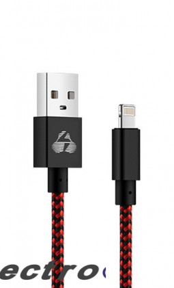 POWERTECH Καλώδιο USB σε Lightning eco small PTR-0031 copper 1m κόκκινο