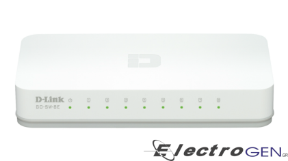 DLINKGO GO-SW-8E 8 PORT DESKTOP SWITCH 10/100 Mbps